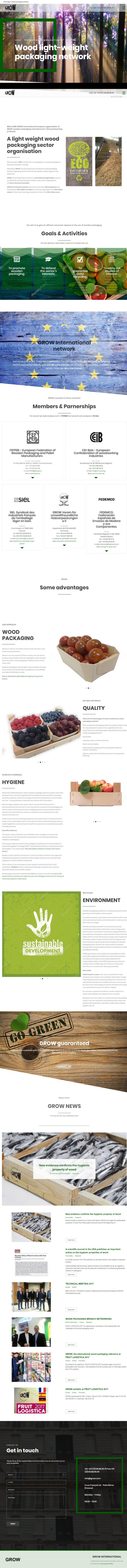 Grow International – Wood light-weight packaging network.clipular